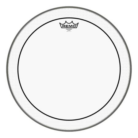 """REMO PS-0316-00 PINSTRIPE CLEAR 16"""" PARCHE TOM"""
