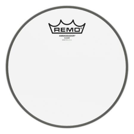 "REMO BA-0308-00 AMBASSADOR CLEAR 8"" PARCHE"
