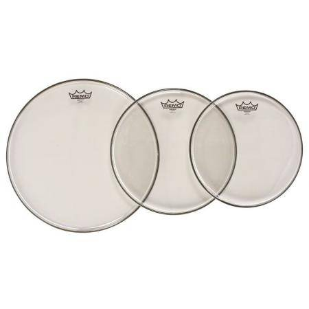 """REMO PP-0973-BE 12"""",13"""",16"""" CLEAR BE PACK TOMS"""