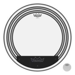 "REMO PW-1320-00 POWERSONIC CLEAR 20"" PARCHE BOMBO"