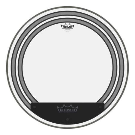 "REMO PW-1322-00 POWERSONIC CLEAR 22"" PARCHE BOMBO"