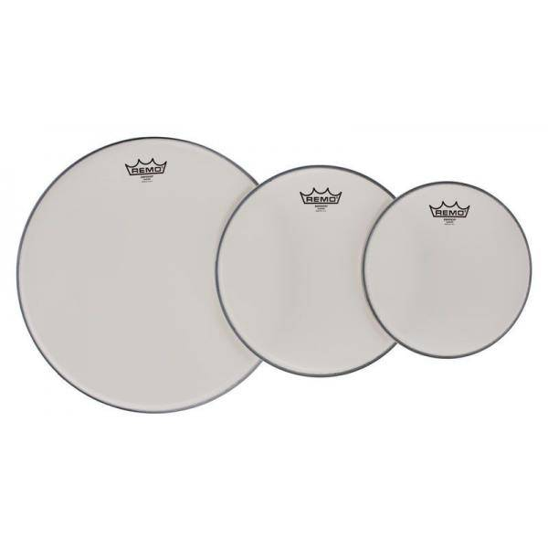 """REMO PP-0982-BE 10"""",12"""",14"""" CLEAR BE PACK TOMS"""