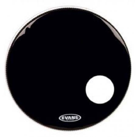 EVANS 22 EQ3 RESONANT BLACK BD22RB PARCHE