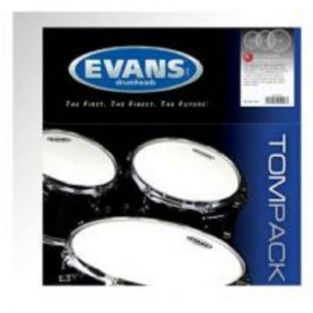 PACK PARCHES EVANS G1 CLEAR STANDARD ETPG1CLRS