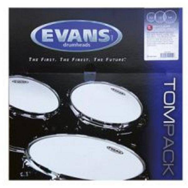 """TOMPACK EVANS G1 CLEAR FUSION (10"""", 12"""", 14"""") 1 CA"""
