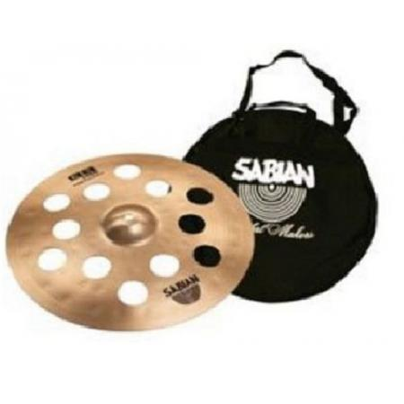 "PLATO 31600BP 16"" O-ZONE CRASH + FUNDA SABIAN"