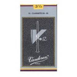CAÑA CLARINETE 3  1/2 V12 VANDOREN GRIS