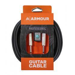 CABLE DE GUITARRA PROFESIONAL ARMOUR ASHTON NEUTRIK DE 3 m