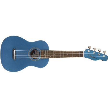 FENDER ZUMA CONCERT UKE, LAKE PLACID BLUE