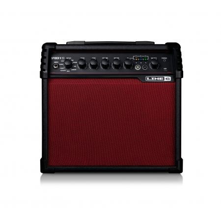 LINE 6 SPIDER V20 RED LIMITED EDITION