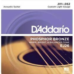 Juego Cuerdas Guit Acust D'addario Ej-26(011-052)