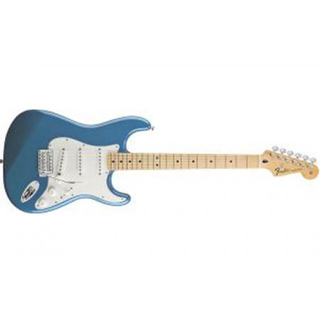 Fender Standard Stratocaster, Maple Fingerboard, Lake Placid Blue