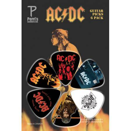 PERRIS LPACDC4 PACK DE 6 PÚAS