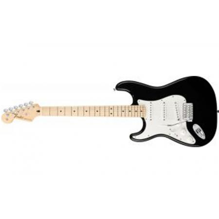 Fender Standard Stratocaster® Left-Handed, Maple Fingerboard, Black
