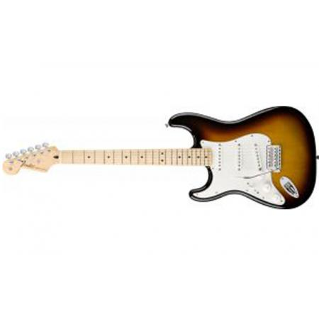 Fender Standard Stratocaster Left-Handed, Maple Fingerboard, Brown  Su