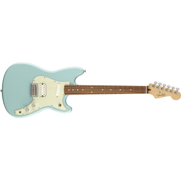 FENDERDUO SONIC HS PFF DAPHNE BLUE ELECTRIC GUITA