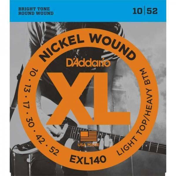 DADDARIO EXL140 (10-52)CUERDAS GUITARRA ELÉCTRICA