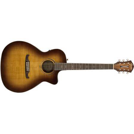FENDER FA-345CE AUDITORIUM LF 3-TONE TEA BURST