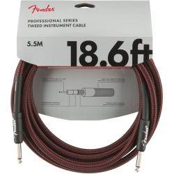 FENDER PRO 5,5M CABLE INSTRUMENTOS RED TWD