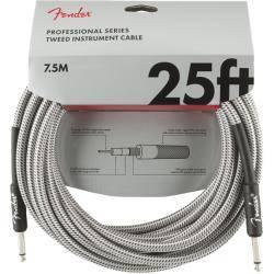 FENDER PRO 7,6M CABLE INSTRUMENTOS WHT TWD