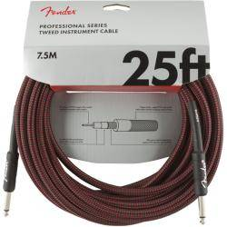 FENDER PRO 7,6M CABLE INSTRUMENTOS RED TWD
