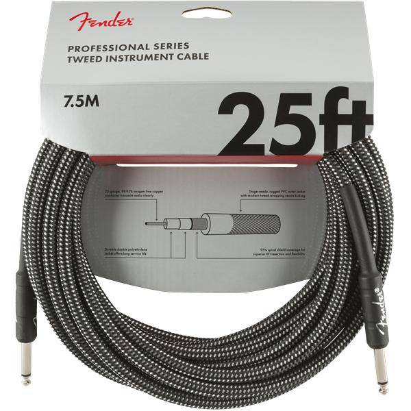 FENDER PRO 7,6M CABLE INSTRUMENTOS GRY TWD