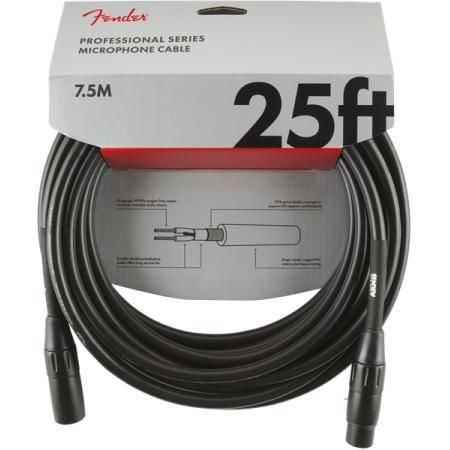 FENDER PRO 7,5M MICRÓFONO CABLE