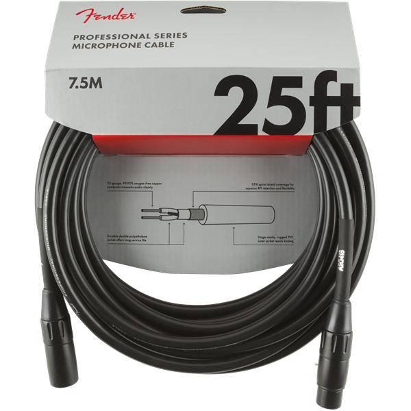 FENDER PRO 7,6M MICRÓFONO CABLE