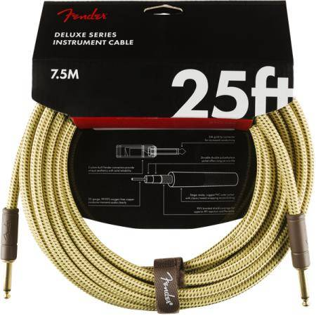 FENDER DELUXE 7,6M CABLE INSTRUMENTOS TWD