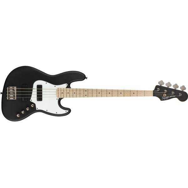 SQUIER CONTEMPORARY ACT JAZZ BASS HH MN FLT NEGRO