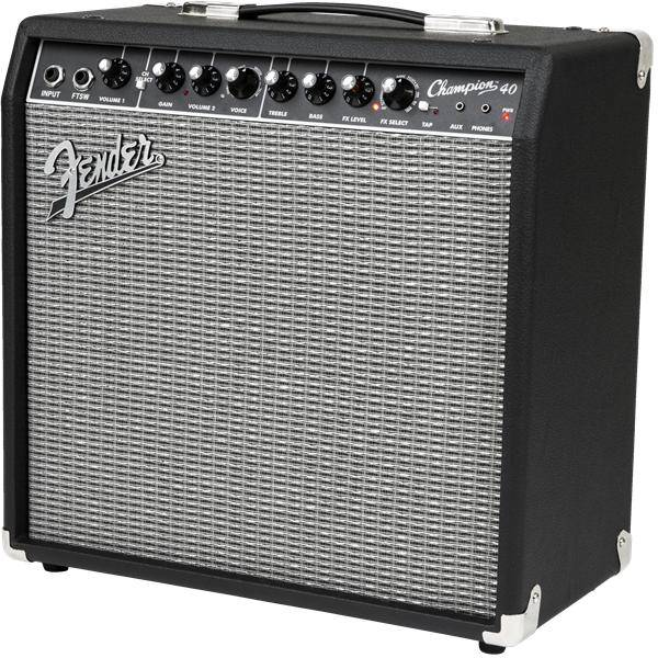 FENDER CHAMPION 40 AMPLIFICADOR GUITARRA