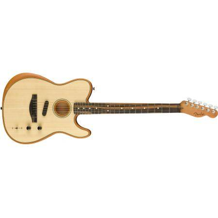 FENDER ACOUSTASONIC TELE W/ BAG NATURAL