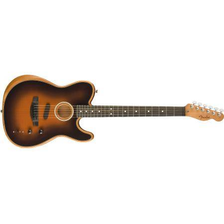FENDER ACOUSTASONIC TELE  W/ BAG SUNBURST