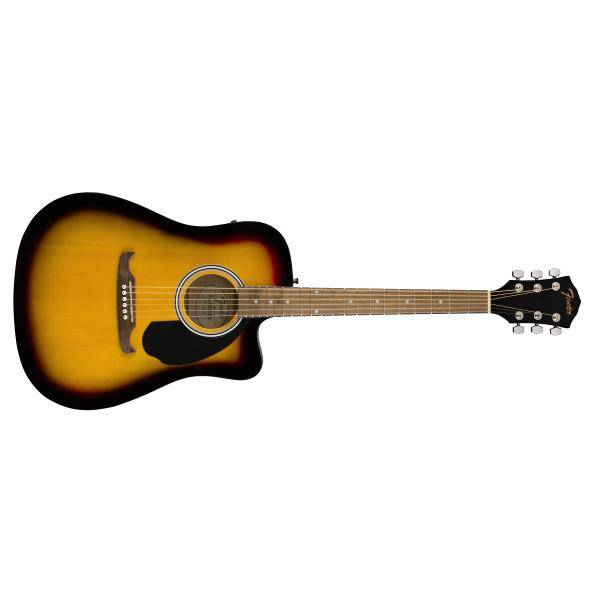 FENDER FA-125CE DREADNOUGHT SB GUIT ACÚST WN