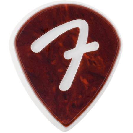 FENDER 'F' GRIP 551 SHELL PACK 3 PÚAS GUITARRA