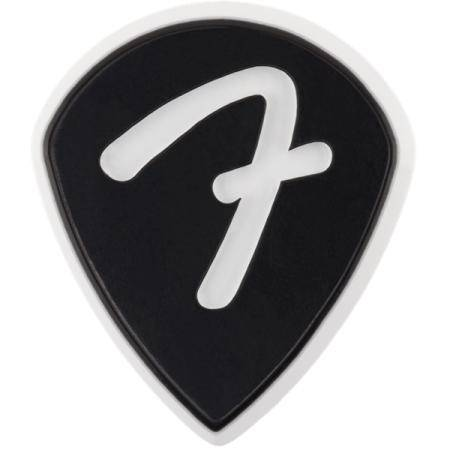 FENDER 'F' GRIP 551 PACK 3 PÚAS GUITARRA NEGRO