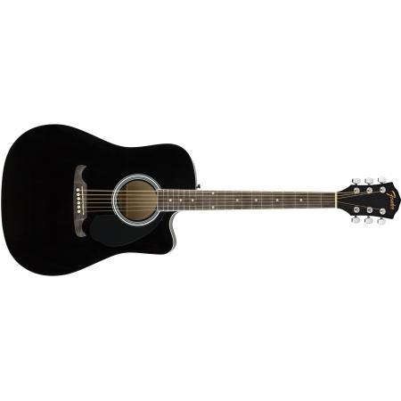 FENDER FA 125CE GUIT DREADNOUGHT BLACK