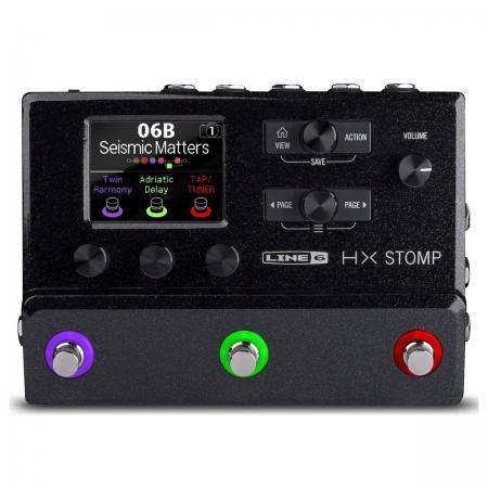 LINE 6 HX STOMP PEDAL MULTIEFECTOS