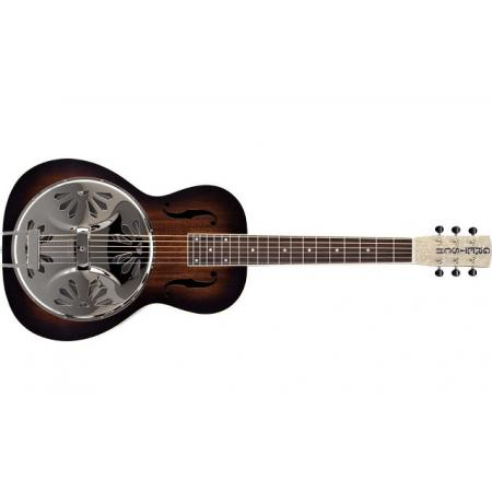 Gretsch G9230 Bobtail™ Square-Neck A.E., Mahogany Body Spider Cone Resonator Guitar, Fishman® Nashville
