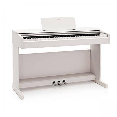 YAMAHA YDP 144 ARIUS PIANO DIGITAL BLANCO