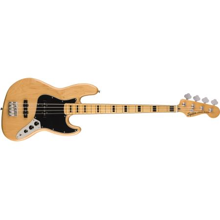 SQUIER CLASSIC VIBE 70'S JAZZ BASS NATURAL BAJO