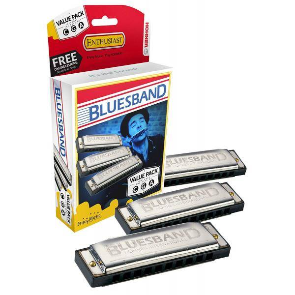 BLUES BAND VALUE PACK (C, G, A)