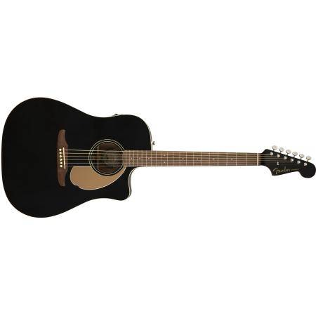 FENDER REDONDO PLAYER JETTY BLACK GUIT ELECTROAC