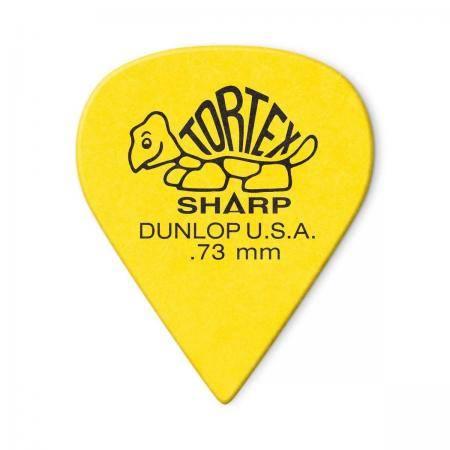 DUNLOP BOLSA 12 PÚAS TORTEX SHARP 0,73MM