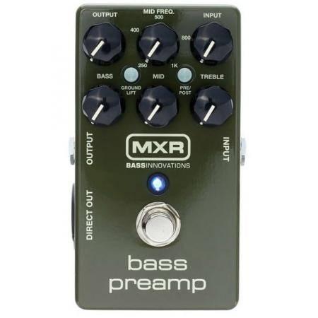 DUNLOP MXR M81 BASS PREAMP PEDAL BAJO