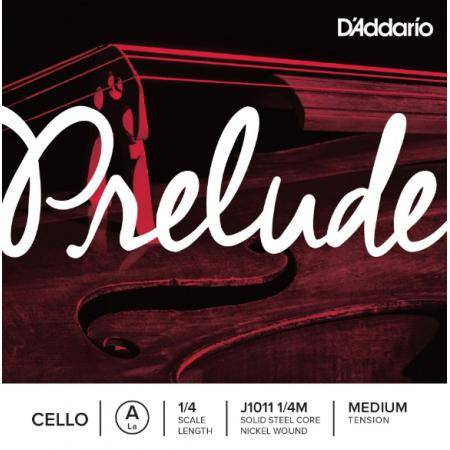 DADDARIO PRELUDE CELLO J1011 1/4 LA