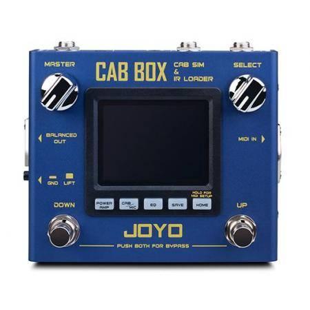 JOYO PEDAL CAB BOX MODELLER R SERIES