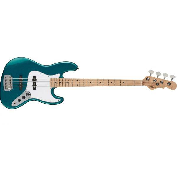G&L USA FULLERTON STANDARD JB BASS ELECTRIC EMERAL