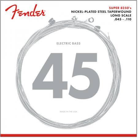 FENDER NPS 8250 M 45-110TW CUERDAS DE BAJO