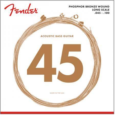 FENDER 8060 45-100 CUERDAS BAJO ACÚSTICO